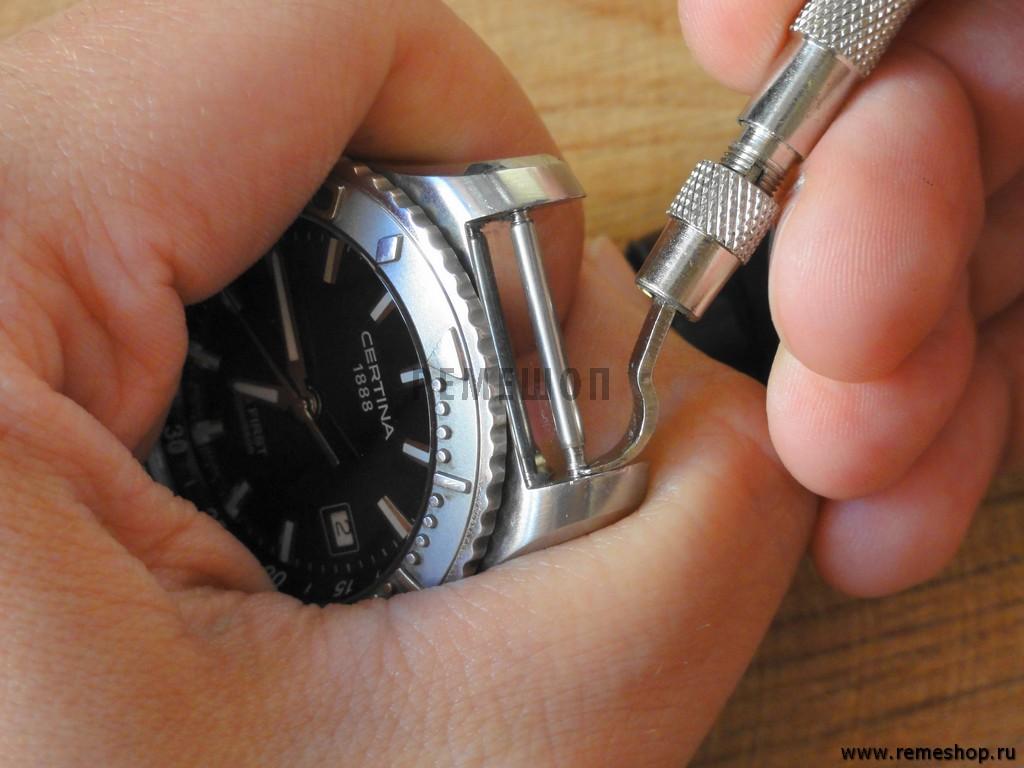 Как заменить ремешок на часах в домашних условиях 181