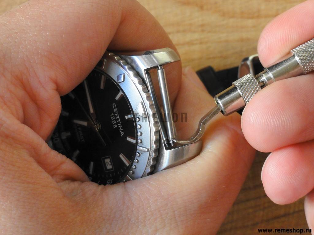 Как заменить ремешок на часах в домашних условиях 241