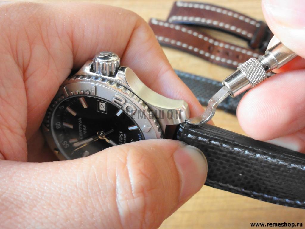 Ремонт часов своими руками браслет 762