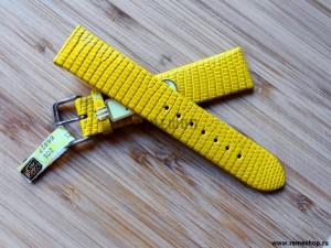 Ремешок Di-Modell Lizard желтый