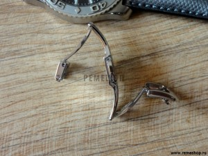 Застежка-бабочка RIOS1931, вид сбоку