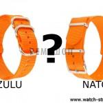 В чем разница между ремешками NATO и ZULU?