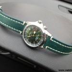 Зеленый HIRSCH Liberty на часах Seiko