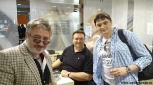 Виктор Латанский, Александр Федичкин, и Я