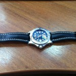 Breitling Steelfish на ремне HIRSCH Heavy Calf