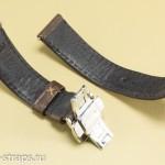 Внутренняя сторона ремня с застежкой-бабочкой после теста