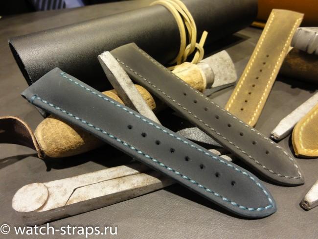 HIRSCH Heritage: синий и черный