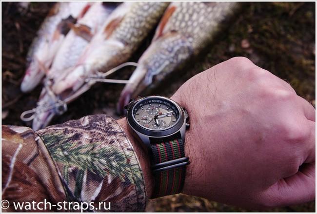 Ремешок ZULU Джеймс Бонд на рыбалке