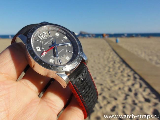 Ремешок HIRSCH Robby на пляже