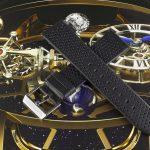 Чёрный часовой ремешок Stailer Flex Perfo