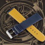 Синий ремешок для часов Stailer Flex