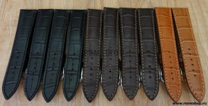 Ремешки для часов RIOS1913 Louisiana Crocodile Calf