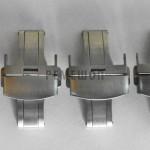 Застежки-бабочки BCL матовые, стальные