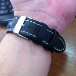 Ремень HIRSCH Heavy Calf на часах Breitling