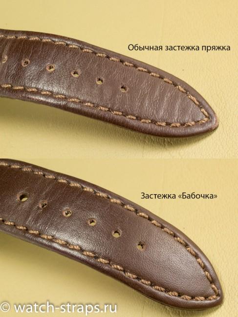 Сравнение износа ремня с пряжкой и ремня с застежкой-бабочкой