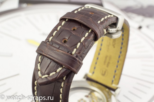 HIRSCH Viscount Alligator на часах