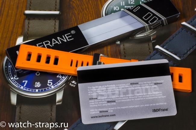 Комплектация ремня ISOfrane с сертификатом подлинности