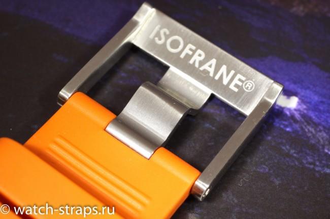 На пряжке RS гравировка марки стоит в незаметном месте - на внутренней стороне перекладины
