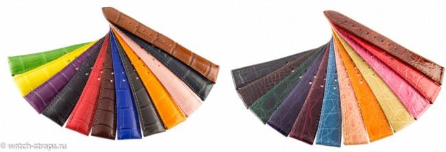 Цветные ремни HIRSCH Precious Leather
