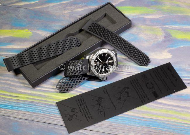 Комплект черного ремешка Noomoon LABB