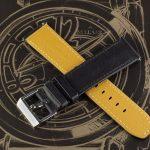 Чёрный ремешок для часов Stailer Flex